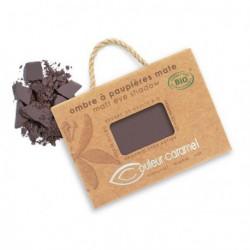 Couleur Caramel Ombre à paupières brun intense mat n° 81 - 2.5 gr maquillage mineral les copines