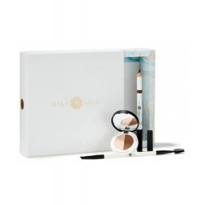 Lily Lolo Coffret Noël Sourcils Perfect Brows collection Medium  produit de maquillage pour les yeux Les Copines Bio