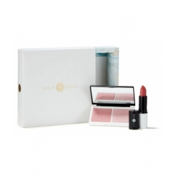Lily Lolo Coffret Noël Pink Nudes collection  produit de maquillage pour le teint Les Copines Bio