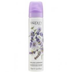Yardley English Lavender Déodorant parfumé Spray 75ml  produit de parfumerie Les Copines Bio