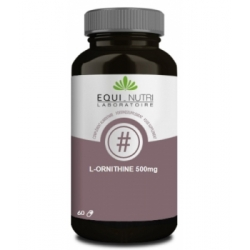 Equi - Nutri L Ornithine 60 gélules végétales 500mg Complément alimentaire Santé Les Copines Bio
