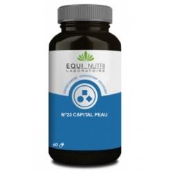 Equi - Nutri Capital Peau Complexe No 23 60 gélules végétales  complément alimentaire Les Copines Bio