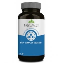 Equi - Nutri Dezacid 60 gélules végétales  Complément alimentaire Santé Les Copines Bio
