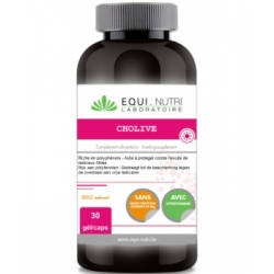Equi - Nutri Cholive Hydroxytyrosol 30 gélules Complément alimentaire Les Copines Bio