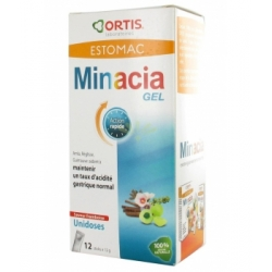 Ortis Minacia forte Gel Estomac 12 Sticks Complément alimentaire Les Copines Bio