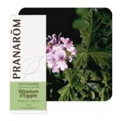 Pranarôm Géranium d'Egypte huile essentielle Flacon compte gouttes 10ml produit d'aromathérapie Les Copines Bio