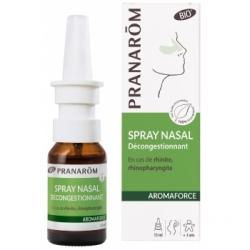 Pranarôm Spray nasal décongestionnant 15ml  produit pour l'hiver huiles essentielles les copines bio