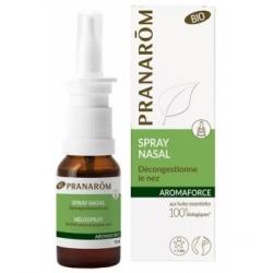 Pranarôm Spray nasal Pranaforce 15ml produit d'aromathérapie Les Copines Bio