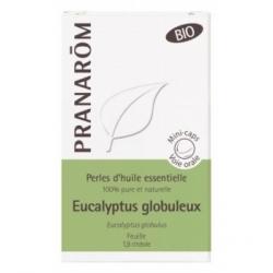 Pranarôm Perle H.E eucalyptus globuleux 60 perles produit d'aromathérapie bio Les Copines Bio