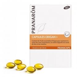 Pranarôm Origan + Bio 30 capsules marines  complément alimentaire Les Copines Bio