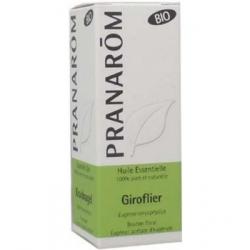 Pranarôm Giroflier Clou de Girofle Bio Flacon compte gouttes 10ml Complément alimentaire Les Copines Bio