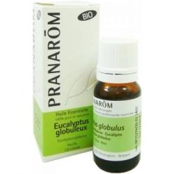 Pranarôm Eucalyptus globuleux Bio Flacon compte gouttes  produit d'aromathérapie bio Les Copines Bio