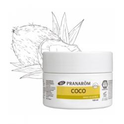 Pranarôm Huile végétale de Coco 100ml  produit de soin visage et corps à base d'huile végétale Les Copines Bio