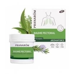 Pranarôm Baume pectoral Bio 80ml produit de massage d'aromathérapie les copines bio