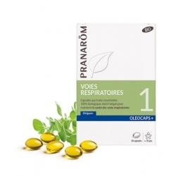 Pranarôm Oléocaps No 1 Bio Voies respiratoires 30 capsules  complément alimentaire bien-être Les Copines Bio