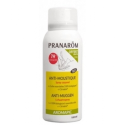 Pranarôm Spray Corporel anti Moustiques Bio 100ml  produit Anti-insectes Les Copines Bio