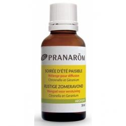 Pranarôm Soirée d'été Paisible Bio 30ml  produit d'aromathérapie bio Les Copines Bio