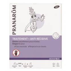 Pranarôm Programme anti poux 3 en 1 Aromapoux  produit de soin capillaire Les Copines Bio