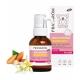 Pranarôm Huile de massage Amande douce bio PRANABB 30ml  produit de soin et de massage pour bébé Les Copines Bio