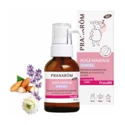 Pranarôm Huile de massage Sommeil bio PRANABB 30ml  produit de soin et de massage pour bébé Les Copines Bio