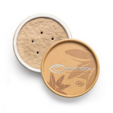 Couleur Caramel Fond de teint minéral Beige clair 01 - 6 gr maquillage bio les copines