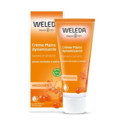 Weleda Crème main à l'argousier - 50 ml Natrue Les copines bio
