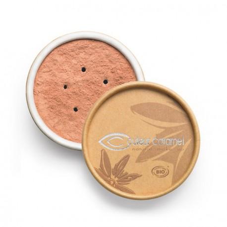 Couleur Caramel Fond de teint bio minéral Beige rosé 02 - 6 gr maquillage bio du teint