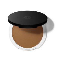 Lily Lolo Fond de Teint compact crème Bamboo peau dorée sous ton olive  produit de maquillage minéral pour le Teint Les Copines
