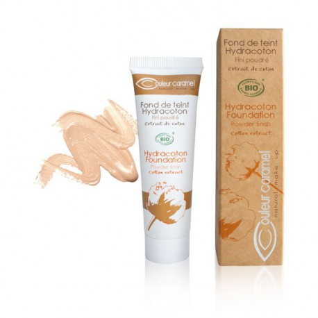 Couleur Caramel Fond de teint Hydracoton Naturel n° 12 - 30 ml maquillage bio les copines