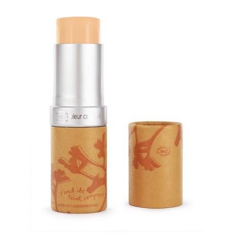 Couleur Caramel Fond de teint compact Beige clair n° 12 - 16 g maquillage bio les copines