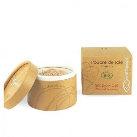 Couleur Caramel Poudre de soie 11 - 8 gr maquillage bio les copines bio