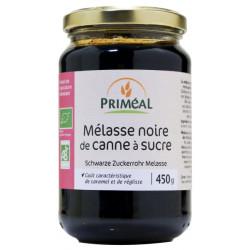 Primeal Melasse noire bio de canne à sucre  450ml produit d'alimentation Les Copines Bio