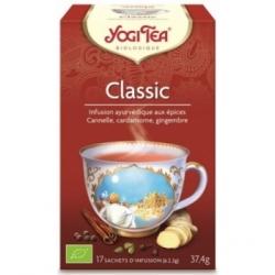 Yogi Tea Infusion ayurvédique épicée classic Yogi tea 17 sachets produit alimentaire pour préparation d'infusion Les Copines Bio