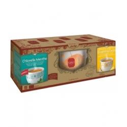 Yogi Tea Coffret 2 tisanes et une tasse produit alimentaire pour préparation de tisane Les Copines Bio
