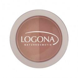 Logona fard à joues blush duo N°3 terra 10gr maquillage bio les copines bio