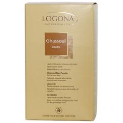 Logona Ghassoul poudre boite carton 1kg produit de Soin et d'Hygiène capillaires Les Copines Bio