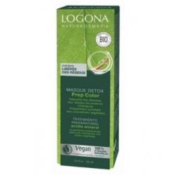 Logona Masque préparateur couleur détox 100ml produit de soin capillaire Les Copines Bio