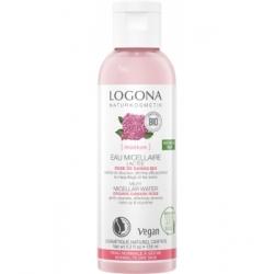Logona Eau micellaire lactée rose de Damas bio 125ml produit de soin démaquillant visage Les Copines Bio