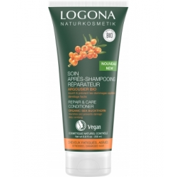 Logona Après shampoing réparateur argousier 200ml produit de soin capillaire Les Copines Bio