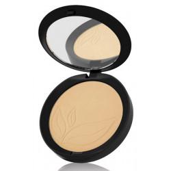 Purobio Cosmetics Poudre compacte Indissoluble 03 beige 9g  produit de maquillage minéral pour le Teint Les Copines Bio