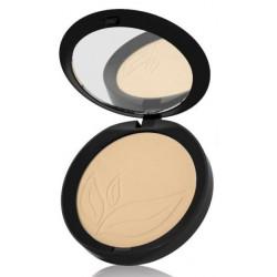 Purobio Cosmetics Poudre compacte Indissoluble 02 9.0gr produit de maquillage minéral pour le Teint Les Copines Bio