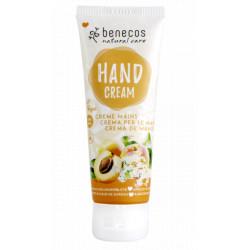 Benecos Crème mains Abricot et Fleur de sureau  75ml soin pour les mains Les Copines Bio