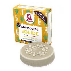Lamazuna Shampoing solide naturel Cheveux normaux pin 55 g Les Copines Bio Hygiene bio