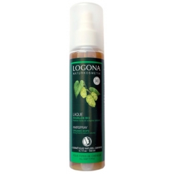 Logona Spray coiffant résines végétales 150ml Natrue Les copines bio
