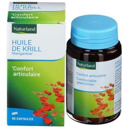 Naturland Huile De Krill Manganèse 45 capsules complément alimentaire Les Copines Bio