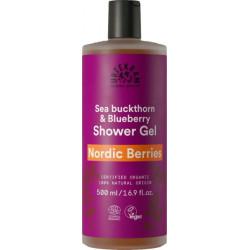 Urtekram Gel douche Nordic berries 500ml  produit d'hygiène pour la douche et le bain Les Copines Bio