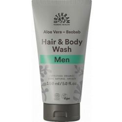 Urtekram Shampoing douche 2 en 1 homme Aloe Vera Baobab 150ml  produit d'hygiène pour la douche et le bain Les Copines Bi