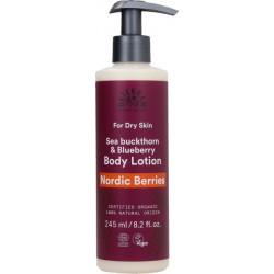 Urtekram Lait corps Nordic berries peau sèche  245ml produit de soin corporel bio Les Copines Bio