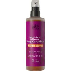 Urtekram Demêlant spray Nordic berries cheveux secs et abîmés 250 ml  produit de Soins capillaires Les Copines Bio