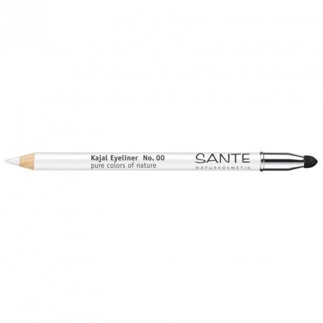 Santé Crayon à paupières Kajal N°00 Blanc 1,3gr maquillage bio les copines bio